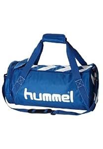 hummel stay authentic sac de sport taille l bleu bleu blanc 66 x 28 x 36 cm sports. Black Bedroom Furniture Sets. Home Design Ideas