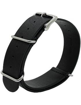 Uhrbanddealer 22mm Ersatzband Uhrenarmband Durchziehband,