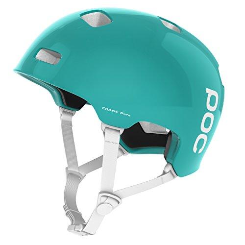 POC Crane Pure Unisex Helm, Beryl Green/Hydrogen White, XL (59 - 62 cm)