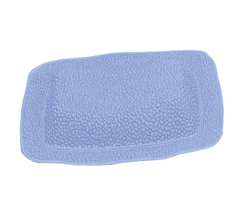 Kleine Wolke 241752008 Java-Plus Repose-Tête de Bain PVC Bleu 32 x 22 cm