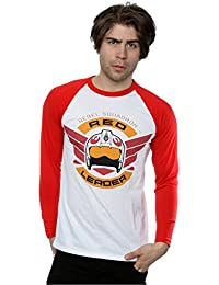 Star Wars Homme Rogue One Red Leader Manches longues Baseball Shirt
