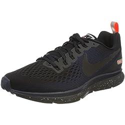 Nike Air Zoom Pegasus 34 Shield, Zapatillas de Deporte para Hombre, Black/Obsidian 001, 40 EU