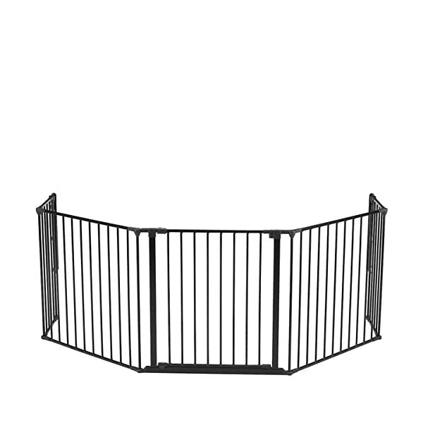 Baby Dan Flex Protection Barrier XL Black  Configure system consists of flexible panel units Easy to mount and you can extend your gate Extra wide door section provides easy acces 1