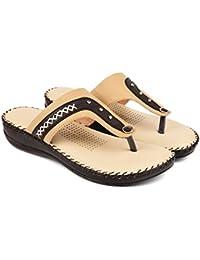 Bare Soles Trendy Doctors Sole Slippers - 909-beige