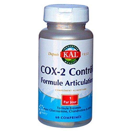 Kal - Cox-2 contrôle - 60 comprimés - Régénérateur et anti-inflammatoire articulaire