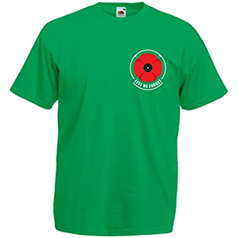N4660 T-shirt da uomo Remembrance day poppy ! - Marys Memorie