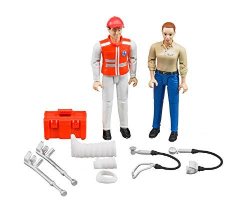 Bruder 62710 2pieza(s) Kit de Figura de Juguete para niños - Kits de Figuras de Juguete para niños (4 año(s),, ABS sintéticos, 2 Pieza(s))