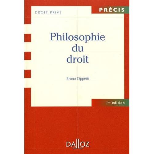 Philosophie du droit Réimpression: NOUVELLE PRESENTATION