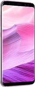 "Samsung Galaxy S8 SM-G950F Single SIM 4G 64GB Pink - Smartphones (14.7 cm (5.8""), 64 GB, 12 MP, Android, 7.0, Pink)"