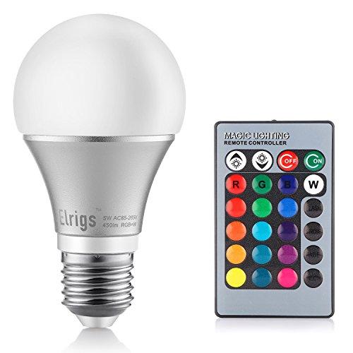 elrigs-5w-dimmbare-led-lampe-rgb-kaltweiss-6000-kelvin-e27-16-farben-zur-auswahl-230-abstrahlwinkel-