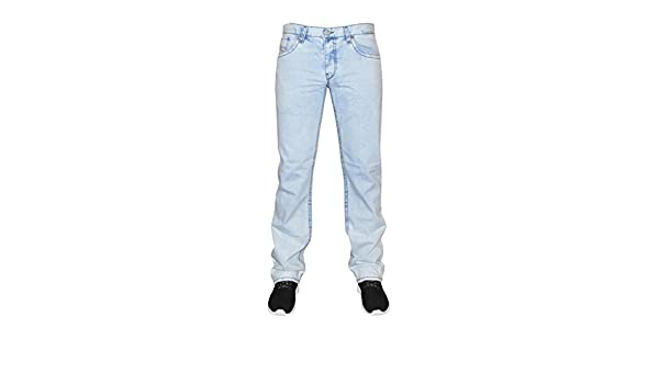 SONDERPREIS! Loose Fit-hervorgehobene Ziernähte Viazoni Jeans Hugo Bleached