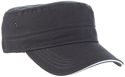 Myrtle Beach Cap Military Sandwich, anthracite/white, one Size, MB6555 anwh
