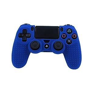 Lioncast Silikon Schutzhülle für PS4 Controller, blau
