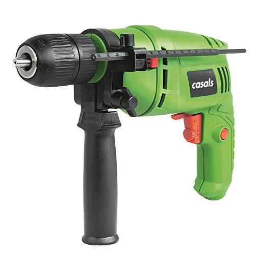 Casals C01242000 Taladro Percutor 500W con cable
