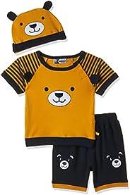 MOMS LOVE Boy's ML BEAR FACE BOYS INF CO-SET CO