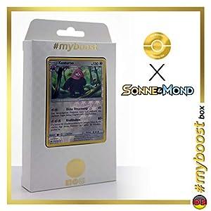 Kosturso (Bewear) 112/149 Holo Reverse - #myboost X Sonne & Mond 1 - Box de 10 Cartas Pokémon Aleman
