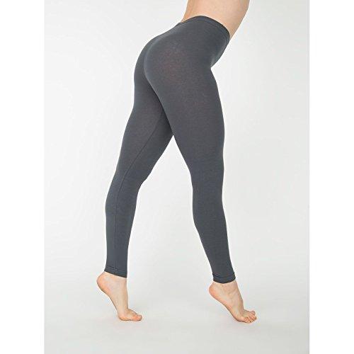 american-apparel-leggings-femme-xs-gris-sombre