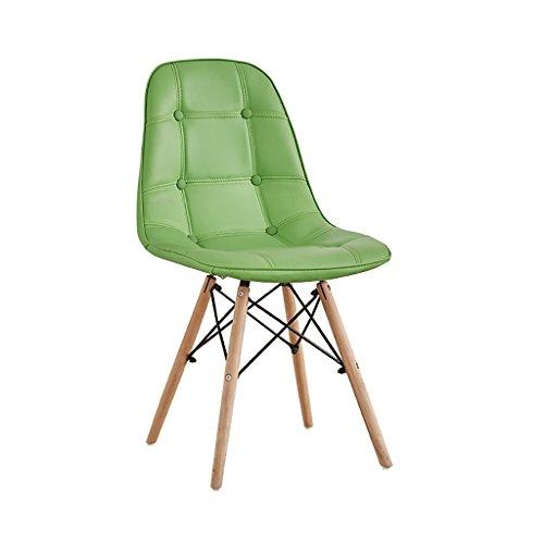 JF Stuhl/Retro Stuhl/Esszimmerstuhl Lounge Stuhl/Holz und Leder Material 50cm * 40cm * 82cm Multi...