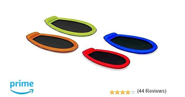 Pool Lounge Luftmatratze aufblasbar Netzboden für Schwimmbad grün