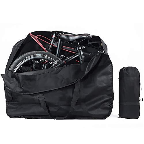 ASUD Bolsa de Transporte 14-16inch Plegable portabicicletas Funda de Rueda Bicicleta Carretera Bolsa + Pouch Transporte Viaje