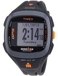 Timex Timex Ironman Run Trainer 2.0 GPS T5K744 - Reloj digital de cuarzo unisex, correa de plástico color negro