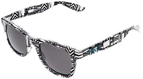 Vans Janelle Hipster Sunglasses - White Geo