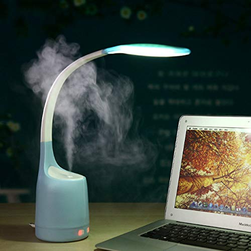 Office-podest (Night Light Reading Study Office Work With Usb Air Humidifier Sprayer Atomizer A)