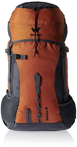Wildcraft 35 Ltrs Orange Rucksack (Rock & Ice 2_Orange)  available at amazon for Rs.2766