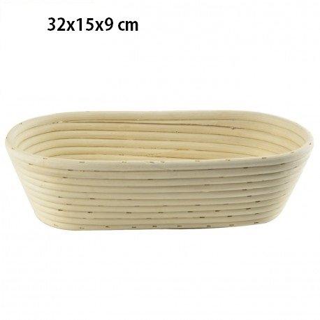GÄRKORB Gärkörbchen Brotteig Gärkörbe Korb Brotform Peddigrohr oval 1,5 kg C187