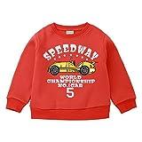 b52d2f6f42 POLP Niño Invierno Unisex Camiseta de Manga Larga para niños Otoño Invierno  Bebe Niña Pulóver Camisa