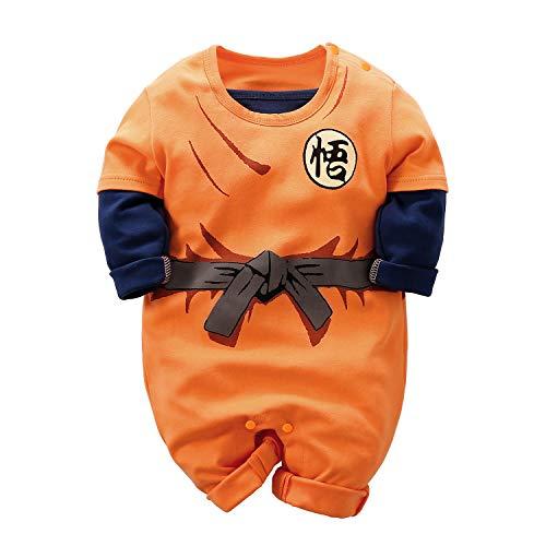 Mono para bebé recién Nacido Goku