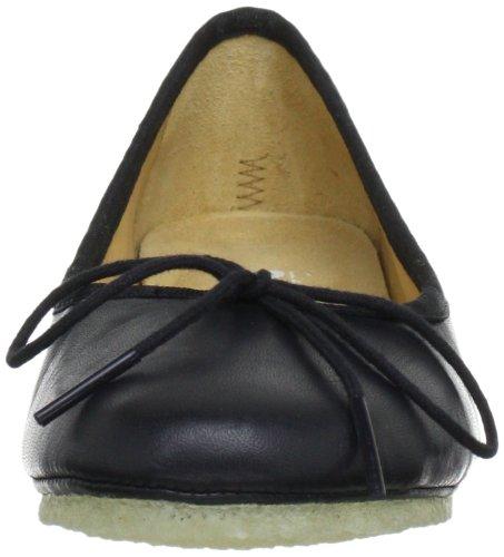 Clarks Originals Lia Grace, Ballerines femme Noir (Black Leather)