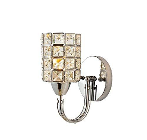- Chrom-kristall-farbe (GCCI Kristall Wand Led, Nachttischlampe Diamant Haus Hotel Zimmer Gang K9 Dekoration Lampen Hochzeit Zimmer Farbe Kristall Chrom 12 * 38 cm,12 * 38 cm)