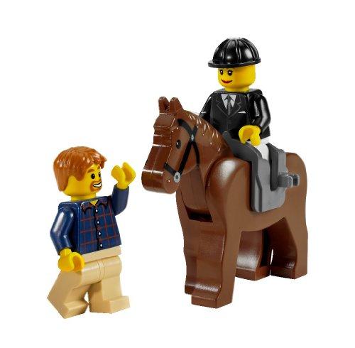 Imagen 6 de LEGO City 7635 - Transporte de caballos [versión en inglés]
