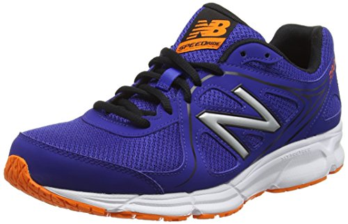 New Balance 390, Scarpe Running Uomo, Blu (Blue/Orange 405), 43 EU