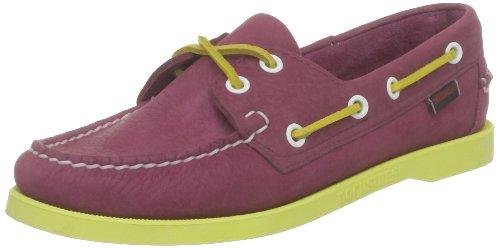 Sebago Docksides, Mocassins femmes, Multicolore (Pink/Yellow), 37