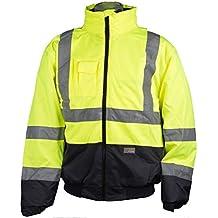 PLANAM Neon Jacke Winterjacke Workwear Arbeitsjacke Winterjacke Herrenjacke