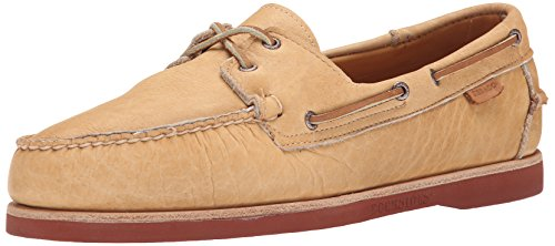 Sebago Mens Crest Dockside Boat Shoe Tan