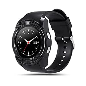 RICH WALKER Branded 4G Bluetooth Smartwatch with SIM Card Support | 3g & 4g Supported | Facebook | Whatsapp | Activity Tracker | Fitness Band | Music | Camera with Video Recording | All Android Smart Mobile Phones & Intex Cloud Crystal 2.5D