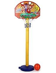 Portable Conjunto de Juguete de Baloncesto con Soporte para Niños