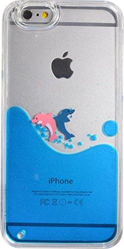 Schutzhülle Delfin für Apple iPhone 6 (Iphone Case, Das Bewegte Wasser)