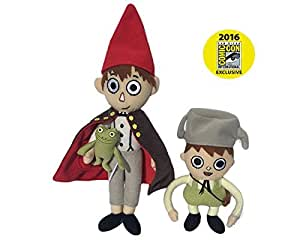 Sdcc 2016 Exclusive Over The Garden Wall Greg And Wirt Plush Set By Cartoon Network