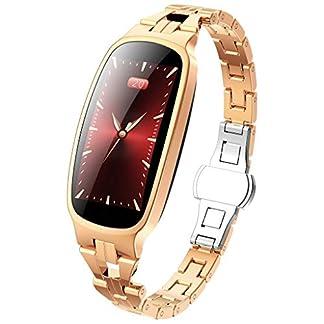 Aomili-Fitness-TrackerSmartwatch-Wasserdicht-IP67-Fitness-Armband-mit-Pulsmesser-096-Zoll-Farbbildschirm-Aktivittstracker-Pulsuhren-Schrittzhler-Uhr-Smart-Watch-Fitness-Uhr-fr-Damen