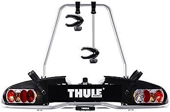 Thule 915020 EuroPower 915 Anhängerkupplungs-Fahrradträger, Silber, 2 Fahrräder