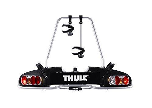 fahrradtraeger bc 60 Thule 915020 EuroPower 915 Anhängerkupplungs-Fahrradträger, Silber, 2 Fahrräder