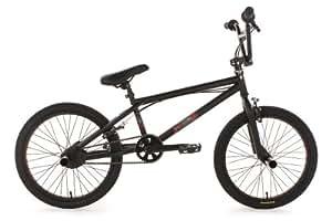 KS Cycling Fahrrad BMX Freestyle Hazard, Schwarz, 20, 504B