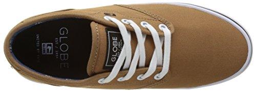 Globe Herren Motley Skateboardschuhe Braun (Latte)