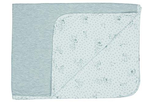 bébé-jou 3031101 Baby Multi-Tuch 101 Dalmatiner, 100 x 75 cm, grau