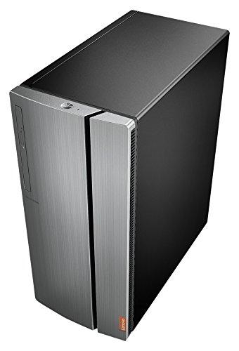 Lenovo Ideacentre 720-18ASU - Desktop, Processore AMD Ryzen 5-1400, 8 GB di RAM, 1TB HDD + 128GB SSD, Scheda Grafica AMD Radeon RX 550, Nero