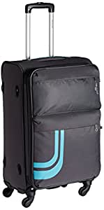 Pronto Amsterdam Polyester 58 cms Grey Soft Sided Carry-On (6577 - GY)